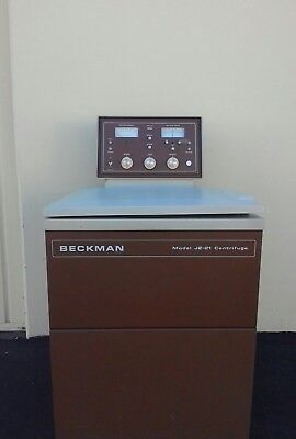 Beckman J2-21 Centrifuge Cleaned And Tested