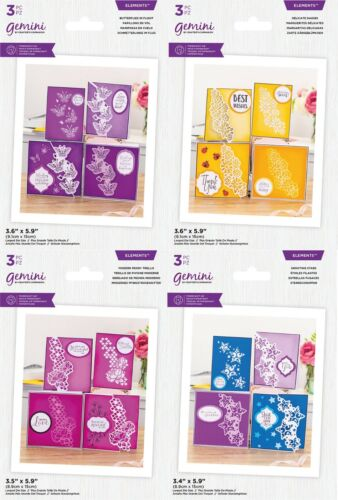 *NEW 2021* Gemini Decorative Panel Border Die Collection by Crafters Companion
