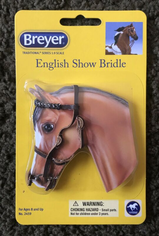 Breyer Horses - Traditional Series 1:9 SCALE English Leather Show Bridle
