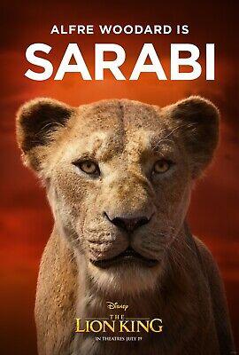 The Lion King 2019 Movie Poster  - Sarabi, Alfre Woodard v8