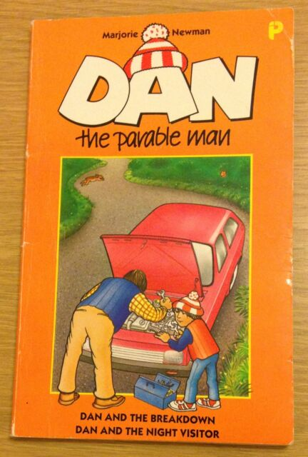 DAN THE PARABLE MAN Marjorie Newman Book (Paperback)