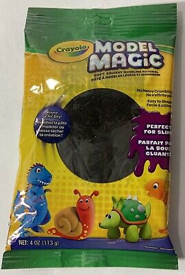 Crayola Crayola Model Magic (Crayola Model Magic-Black 4 oz.  Perfect For Slime.)