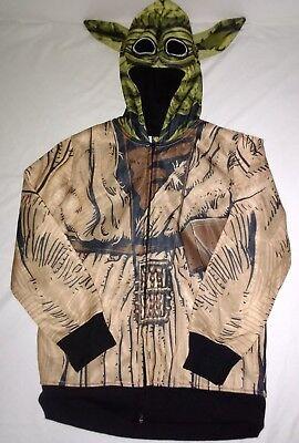 Boys Star Wars Yoda Halloween Costume Hoodie Jacket with Mask