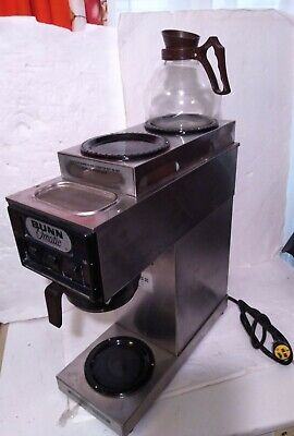 Bunn-o-matic Model S 3 Burners Coffee Maker Machine