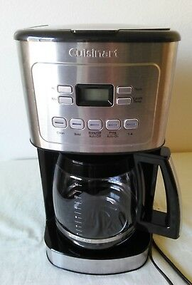Very Clean Cuisinart programmable 14 cup coffee maker CBC 6400 PC