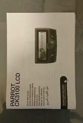 Parrot CK 3100 Bedienungsanleitung, Manual, Manuale, Manuel Parrot Ck3100 Bluetooth