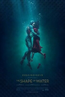 The Shape of Water 2017  Movie Poster A0-A1-A2-A3-A4-A5-A6-MAXI 698
