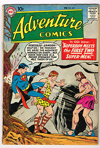 ADVENTURE COMICS  # 257 a silver age comic 1959 DC Comics Superman Superboy