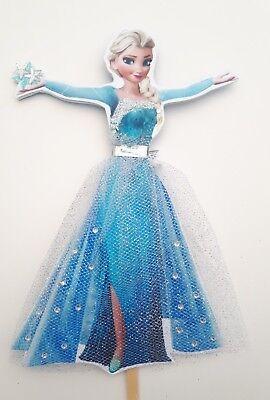 Disney Frozen Elsa Cake Topper.Hand made. 7inches!!!