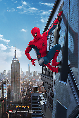 Spider-Man: Homecoming Movie Poster  - Tom Holland, Iron Man