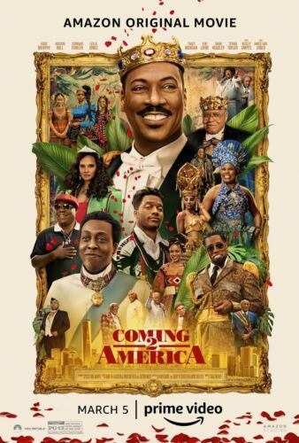 """Coming To America 2  movie poster (b)  -  11"""" x 17"""" inches - Eddie Murphy"""