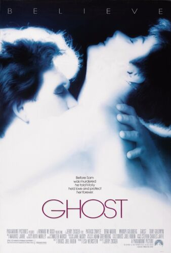 GHOST (1990) ORIGINAL MOVIE POSTER  -  ROLLED