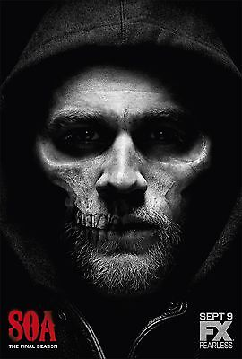 Sons Of Anarchy Season 7 Fx Tv Poster  24X36    Charlie Hunnam  Katey Sagal New