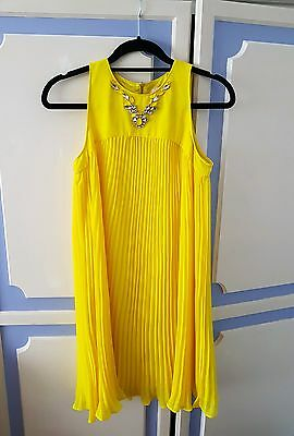 Absolutely Stunning Ted Baker Dress with Crystal decoration, size 1 or UK8 - VGC