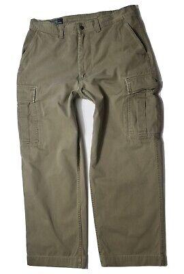 Polo Ralph Lauren Green Cargo Slack Pants Size 36x30