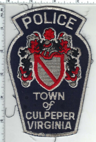 Town of Culpepper Police (Virginia) Uniform Take-Off Shoulder Patch Early 1980