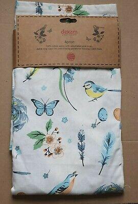 Dexam Vintage 100% Cotton Songbird Apron
