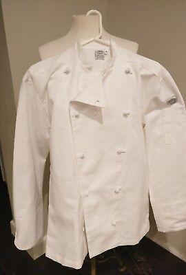 Professional Chef Coat Jacket Mens Small