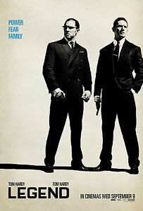 A3 LEGEND MOVIE POSTER PRINT - BUY2GET1FREE (L5) - KRAYS/TOM HARDY/GANGSTERS