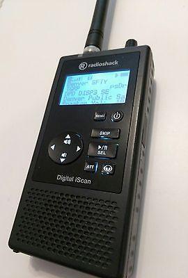 Dmr Upgraded Radioshack Pro 668 Scan It With P25 Phase I And Ii