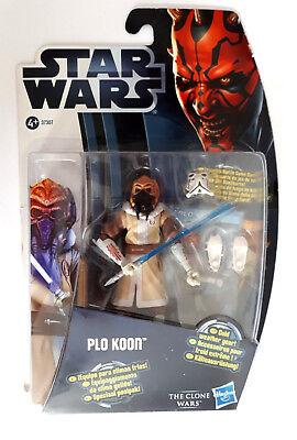 STAR WARS  The Clone Wars  PLO KOON, Actionfigur Spielfigur, Hasbro 37307, RAR