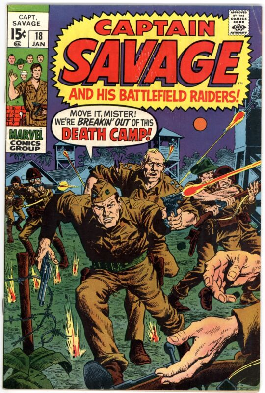 Captain Savage and His Leatherneck Raiders (1968) #18 VF- 7.5