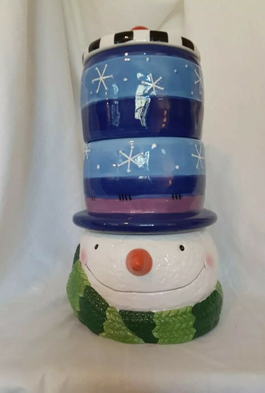 "Cookie Jar Elements 14"" Snowman"