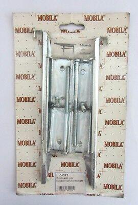 Mobila 2 Shelf Shelves X Radiators Zincocromate Cod. 64022 New Inc Screws