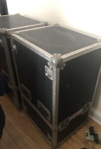 Roadcase for 12, 15 inch speakers,haut parleurs