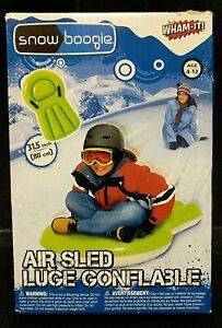 NEW Snow Boogie Inflatable Air Sled, FREE SHIPPING