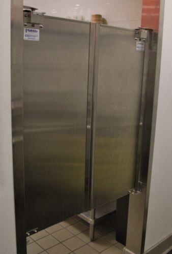 """Cafe Doors 36""""x42"""" Stainless Steel Double Door. Restaurant Kitchen Traffic Door."""