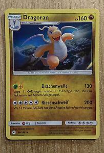 Pokemon Karte - 96/149 Dragoran [Holo]  - Sonne & Mond - DE / NEU