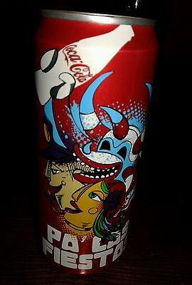Puerto Rico New Coca Cola can Limited Edition San Juan Festival super rare ♡♡♡♡♡