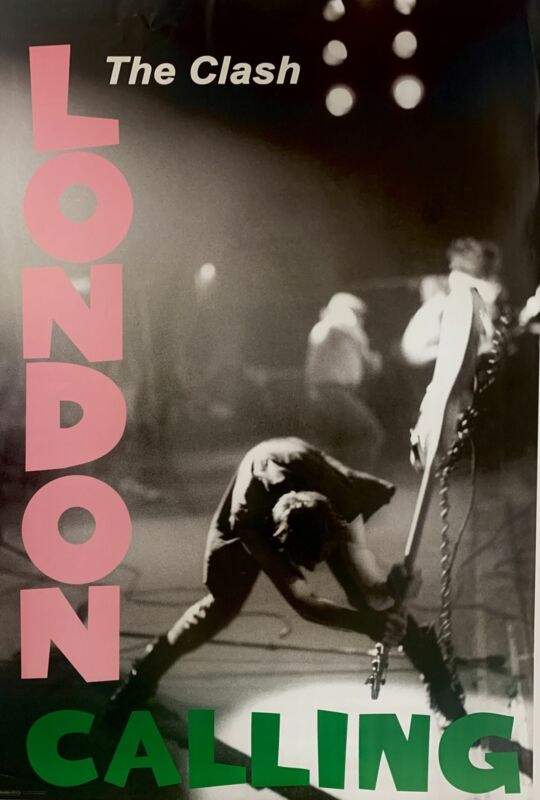 The Clash London Calling 2013 Poster 24 X 36