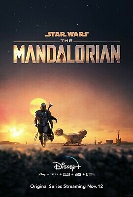 Star Wars The Mandalorian poster  -  11 x 17 inches