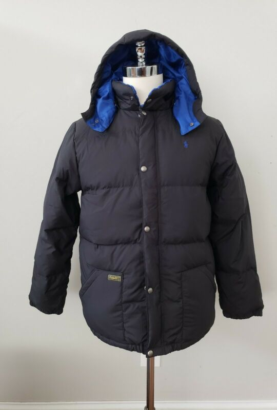 NWT Polo Ralph Lauren  BOYS DOWN HOODED JACKET PUFFER COAT L14-16 /18-20 XL