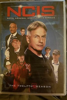 Ncis  The Twelfth Season  Dvd  2015  6 Disc Set    Brand New Free Shipping