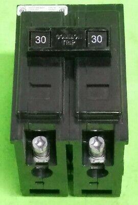 Cutler Hammer Bab2030 Quicklag Circuit Breaker 2 Pole 30 Amp 240v Type Ba