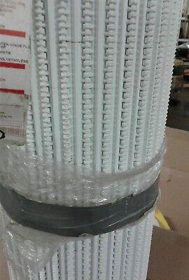 Plastic Intralox 1600 Conveyor Belt 30x 18.83 Feet