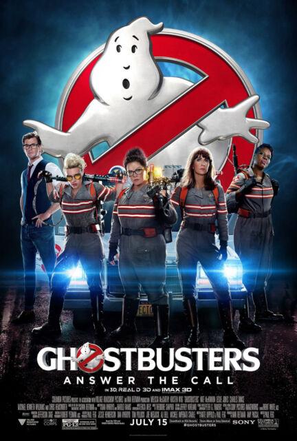 Ghostbusters Movie Poster 11 X 17 | eBay