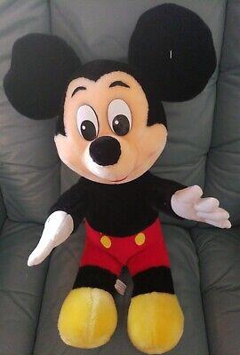 Disney Parks Disney World Mickey Mouse 21 inches Plush Dolls Stuffed toy vintage