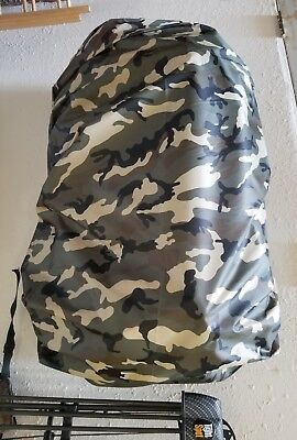 Jimmy Tarps UL PACK COVER 1.1 oz WOODLAND Camo 6000-9000 CUI NEW