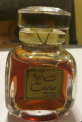 """Vintage parfum """"CAIRO"""" by """"KESMA"""" EGYPT 1960's 50 ml  Unused SEALED BOTTLE"""