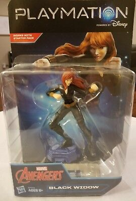 Disney Playmation Marvel Avengers Black Widow New in Package FREE SHIPPING