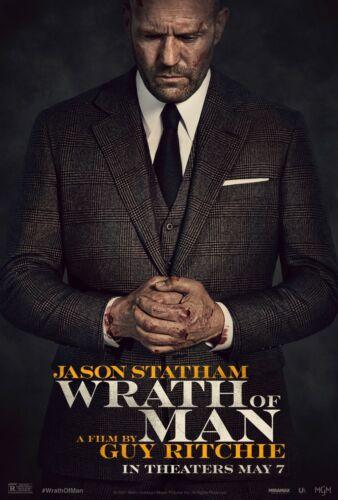 Wrath Of Man movie poster  - 11 x 17 -  Jason Statham