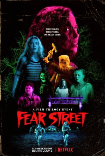 """Giclee Art Print of the 2021 Promo Poster """"Fear Street"""" Trilogy"""
