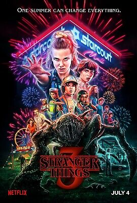 Stranger Things poster (g)  -  11 x 17 inches