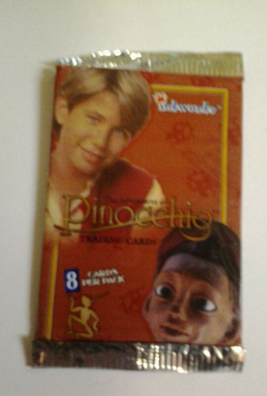 The Adventure Of Pinocchio Trading Cards 1996 Sealed