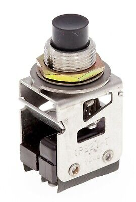 Honeywell Micro Switch 1pb21-t Black Momentary Push Button Switch Spdt Nos