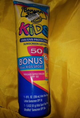 Banana Boat Spf#50 Kids Tear Free Sunblock 8oz